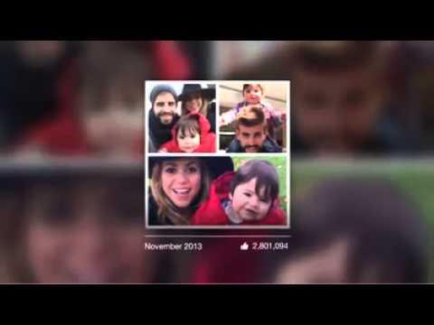 La película de Facebook de Shakira