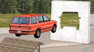 Beamng drive - Impossible Car Stunts