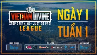 Divine League: Master | Tuần 1 |  Ngày 26/11 | Caster: Việt Anh