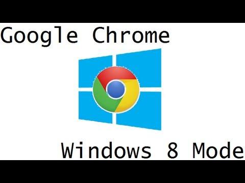 how to set chrome to default windows 8