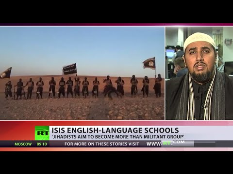 ISIS opens English-language schools for foreign fighters' kids in Syria