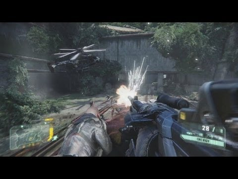Crysis 3 'The Train Yard Gameplay'