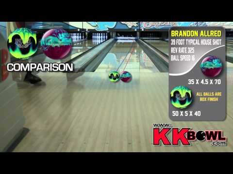 Hammer Arson Pearl Vs Ebonite Endure   Bowling Ball Review By K&amp K Bowling Services