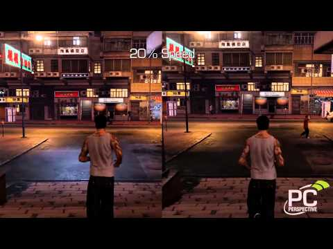 Sleeping Dogs - 60 FPS vs 30 FPS - Frame Rating