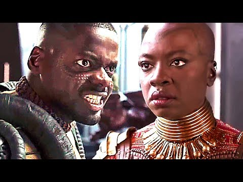 "BLACK PANTHER Deleted Scene ""Husband & Wife Fight"" (2018) Marvel Superhero Movie HD"