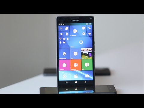 Microsoft Lumia 950 XL Hands on Review, Camera, Features