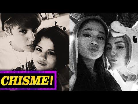 Miley Cyrus y Ariana Grande Colaboran, Selena Gómez Deprimida por Justin Bieber CHISMELICIOSO