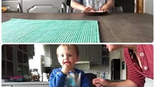 Tobias (Elias' cousin) complete the candy challenge!