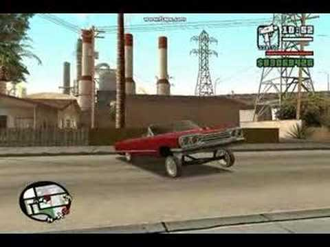 lowrider 64 impala Video