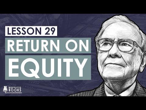 29. What is Return On Equity - Warren Buffett's Favorite Number