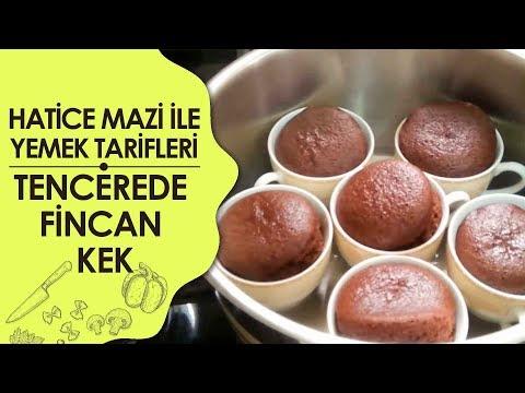 Tencerede Fincan Kek Tarifi Videosu