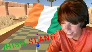 IRISH SLANG!- Golf with your Friends (Feat. Bryson and RhinoTV)