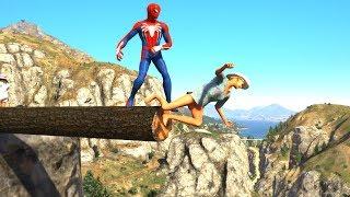GTA 5 Epic Ragdolls/Spiderman Compilation vol.7 (GTA 5, Euphoria Physics, Fails, Funny Moments)