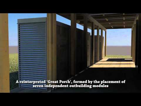 Appalachian State University s Solar Homestead Solar Decathlon 2011 Computer-Animated Walkthrough