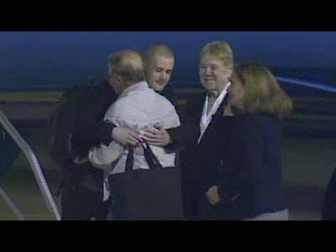 Detained Americans released from N. Korea