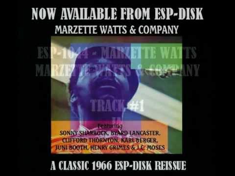 ESP-1044 -- MARZETTE WATTS - MARZETTE&COMPANY - PROMO MUSIC VIDEO