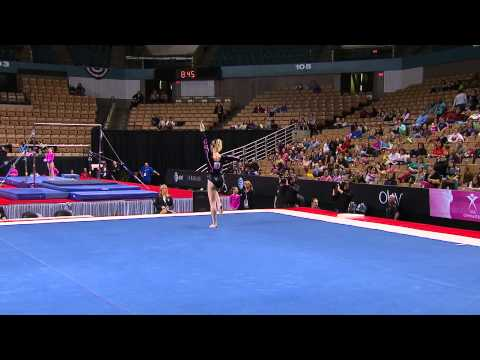 Alex McMurtry - Floor Exercise - 2013 Nastia Liukin Cup