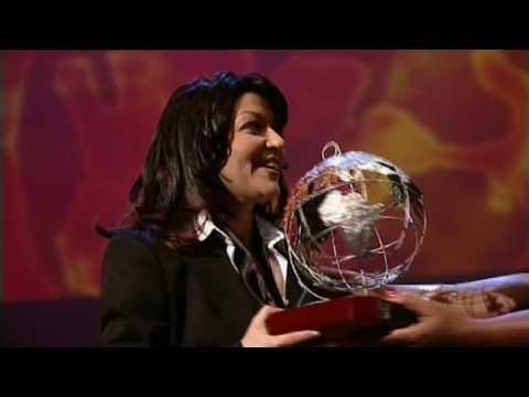 Samira Said - BBC Award | 2003 | سميرة سعيد - جائزة الـ بي بي سي