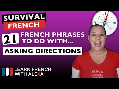 21 French phrases to do with