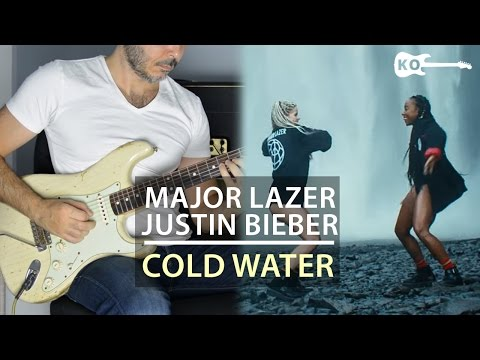 Major Lazer feat. Justin Bieber & MØ - Cold Water - Electric Guitar Cover by Kfir Ochaion