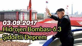 Kuzey Kore Hidrojen Bombası Denemesi - 6.3 Büyüklüğünde Deprem Oldu # Uyan ARTIK