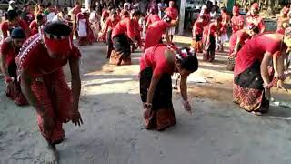 Majuli Gumrag Nritya(dance) by Rakesh Pegu's team