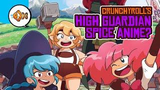 "Crunchyroll's HIGH GUARDIAN SPICE ""Anime"" Series Reaction?! (Animation Livestream)"