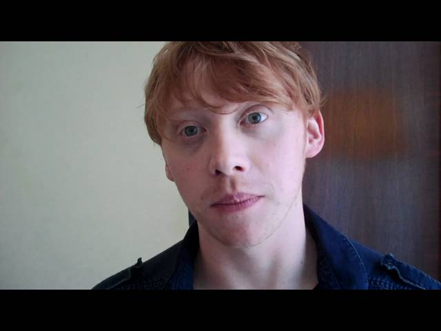 Rupert Grint speaks with the HFPA.