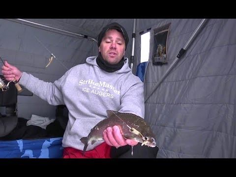 "Using Underwater Cameras to Catch Green Bay Whitefish -- ""In-Depth Outdoors"" TV 2013"