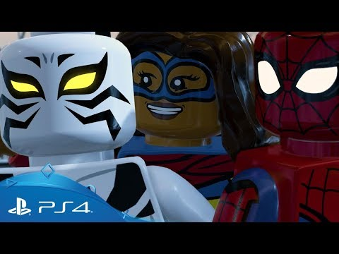 LEGO Marvel Super Heroes 2 | Chronopolis Trailer | PS4