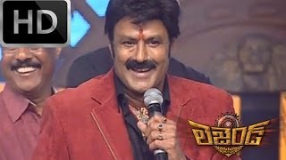 BalaKrishna Speech & diaogue - Legend Audio Launch