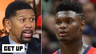 Zion scored 17 straight points without dunking and Jalen Rose is impressed | Get Up
