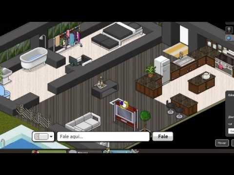 Minhas casas no habbo pirata youtube for Casa moderna en habbo fantasy