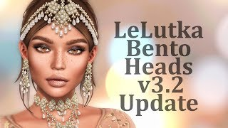LeLutka Bento Heads v3.2 Update in Second Life