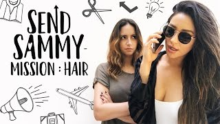 Sending Sammy to get HUMAN HAIR! | Shay Mitchell