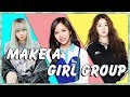 Create Your Own 7 Member K Pop Girl Group! (Kpop Game)