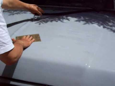 Youtube How To Sand Primer Before Painting Car