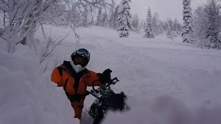Хакасия. Boondocking. Russian Snowmobile School  с Крисом Бурандтом