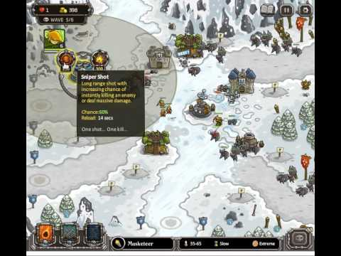Kingdom Rush Ha'kraj Plateau Heroic Challenge Walkthrough