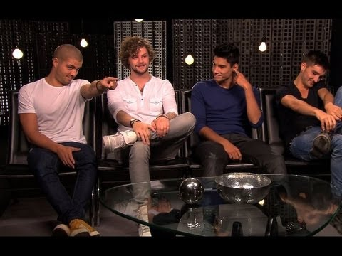The Wanted Funny Interview - The Wanted Life, Love, Pick-Up Lines, Fights & More!