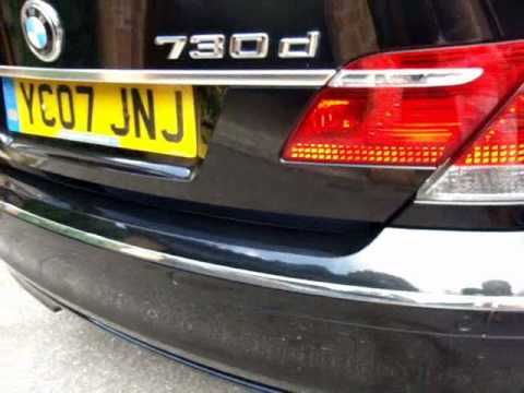 A 2007 (07) BMW 730d SE Auto Steptronic - One owner from new,
