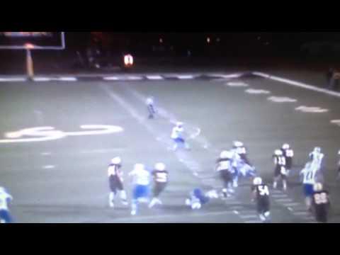 Tyreek Hill kick return touchdown, Garden City Community College (via Hudl)