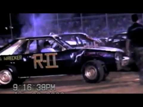 BURKESVILLE,KY COMPACT Demolition Derby 2003 PART 2
