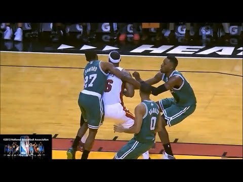 Part 2: http://www.youtube.com/watch?v=t4KEc0NfV-U&feature=youtu.be Passing Highlights start at 8:42 LeBron James's jumpshots, jab steps, fade aways, post mo...