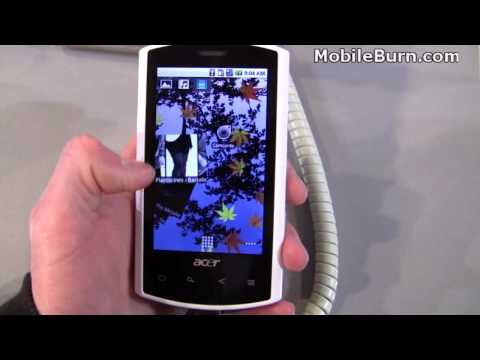 Acer Liquid e - first look