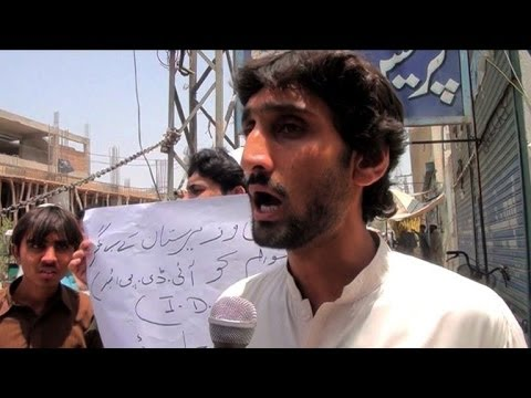 Pakistanis call for safe passage from Waziristan