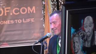 Micky Ward gets inducted into The Atlantic City Boxing Hall of Fame on June 23, 2019