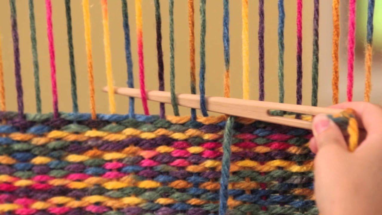 Weaving Book/Video Descriptions - Camilla Valley Farm High fashion weaving loom video