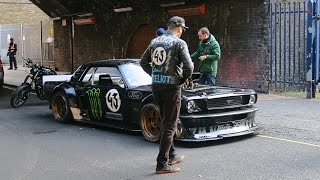 Ken Block in London 2016 - (Video and Pictures)