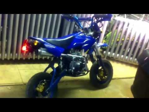Road legal pit bike 50cc